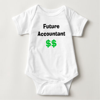 Future Accountant Baby Bodysuit