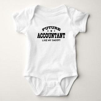 Future Accountant Like My Daddy Baby Bodysuit