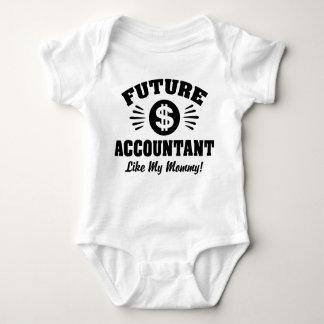 Future Accountant Like My Mommy Baby Bodysuit