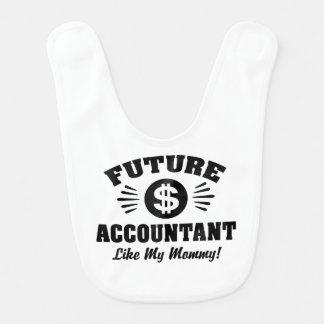 Future Accountant Like My Mommy Bib