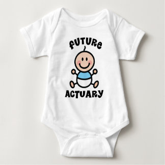 Future Actuary Baby Gift Baby Bodysuit