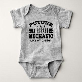Future Aircraft Mechanic Like My Daddy Baby Bodysuit