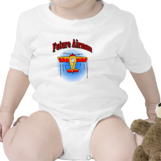 Future Airman Rompers