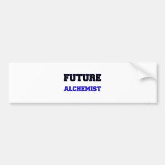 Future Alchemist Car Bumper Sticker