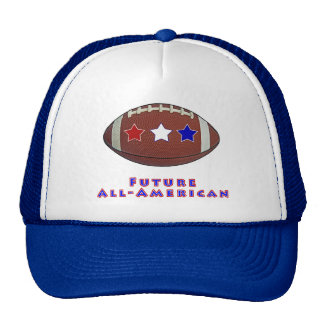 Future All-American Football Shirts for Kids Hats