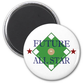 Future All Star 6 Cm Round Magnet
