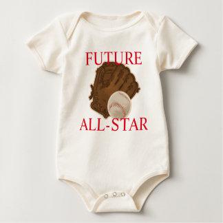 Future ALL-STAR Baseball Baby Bodysuit