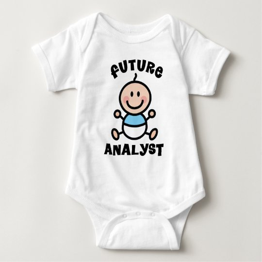 Future Analyst Baby Gift Baby Bodysuit