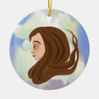 future and past girl Ornament
