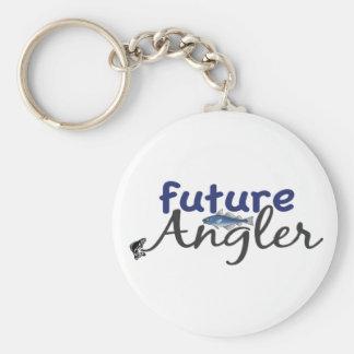 Future Angler Fishing Key Chain