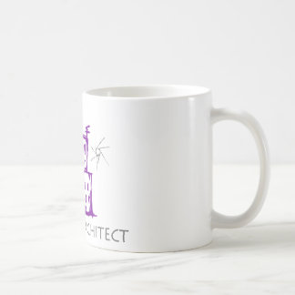 Future Architect Cute Design! Basic White Mug