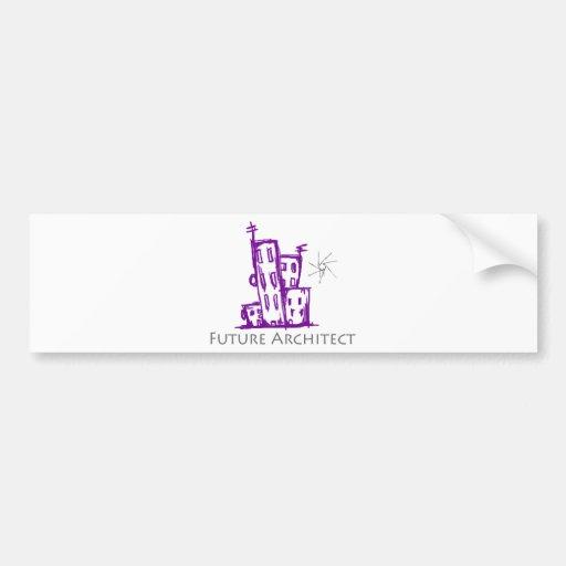 Future Architect Cute Design! Bumper Sticker