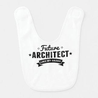Future Architect Like My Daddy Baby Bibs