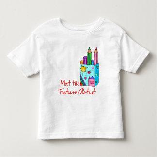 Future Artist Toddler T-Shirt