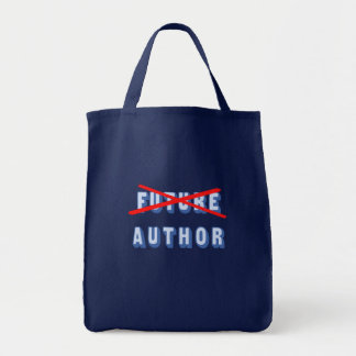 Future Author No More Grocery Tote Bag