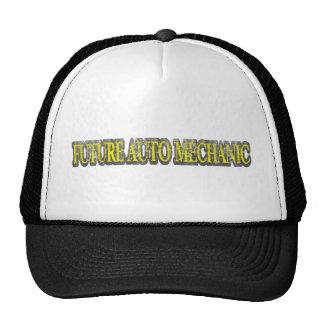 FUTURE AUTO MECHANIC YELLOW VINTAGE CAP
