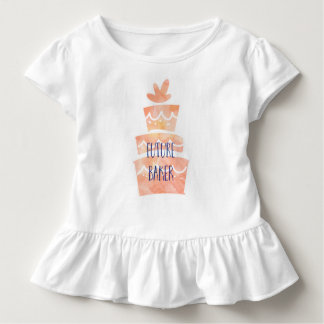 Future Baker Toddler Girls T Shirt