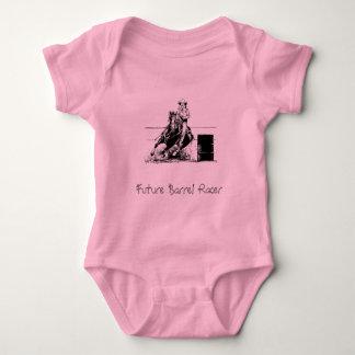 Future Barrel Racer Baby Bodysuit