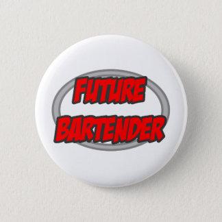 Future Bartender 6 Cm Round Badge