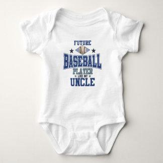 Future Baseball Player Like My Uncle Baby Bodysuit