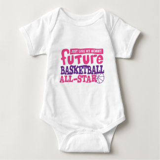 Future Basketball All Star - Girl Baby Bodysuit