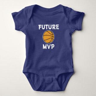 Future basketball MVP baby boy shirt