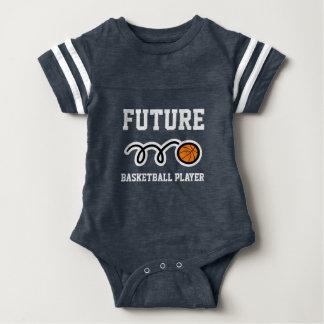 Future Basketball Player jersey baby bodysuit