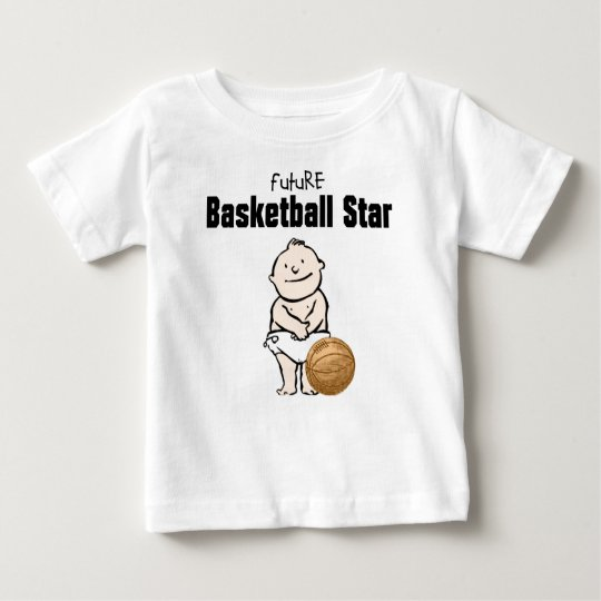 Future Basketball Star Baby Boy T-shirt