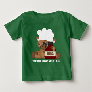 Future BBQ Master baby t-shirt