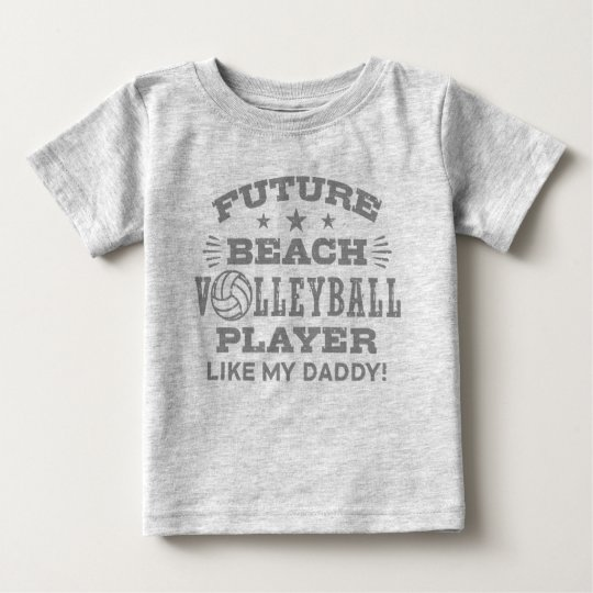 Future Beach Volleyball Player Like My Daddy Baby