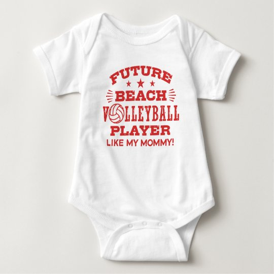 Future Beach Volleyball Player Like My Mummy Baby