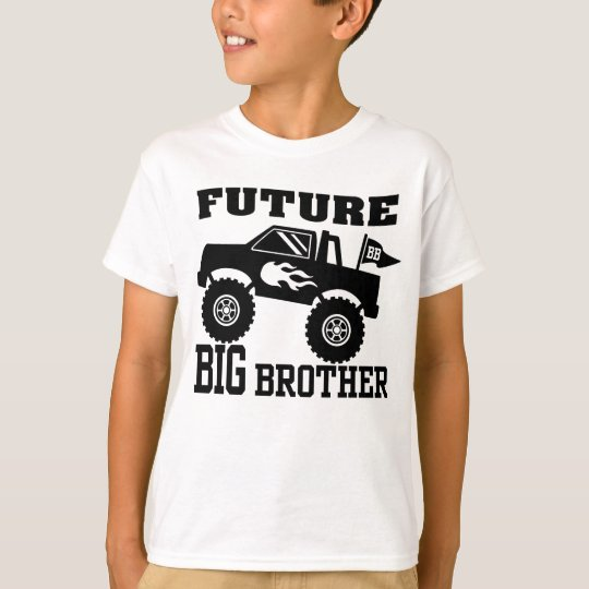Future Big Brother Monster Truck T-Shirt