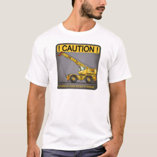 Future Big Crane Driver Mens T-Shirt