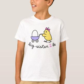 Future Big Sister Chick Tshirts