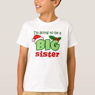 Future Big Sister Christmas Tee Shirt