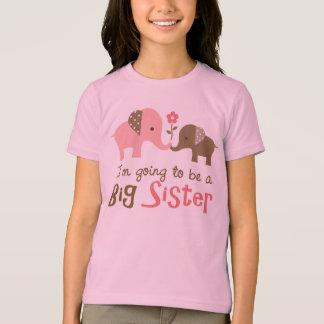 Future Big Sister - Mod Elephant T-Shirt