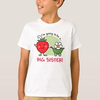 Future Big Sister Strawberry T-Shirt