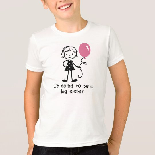 Future big sister t-shirts for girls