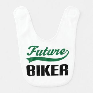 Future Biker Baby Bib