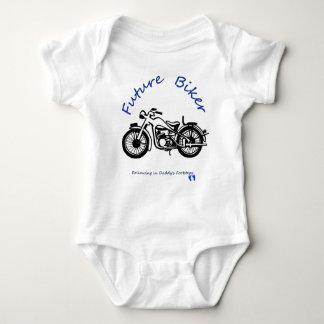 Future biker baby bodysuit