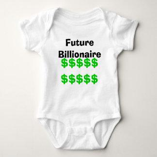 Future Billionaire Baby Bodysuit