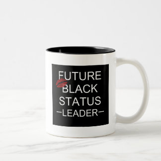 Future Black Status Leader Mug