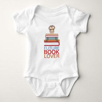 Future Book Lover Baby Cute Owl Shirt