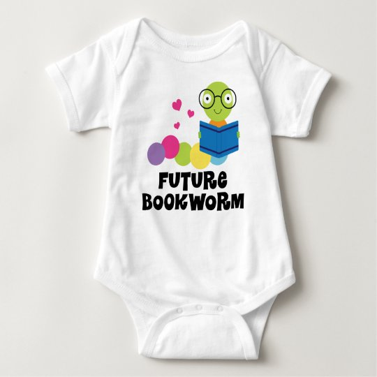 Future Bookworm Kids Reading Baby Bodysuit