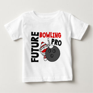 Future Bowling Pro Sock Monkey Baby T-Shirt