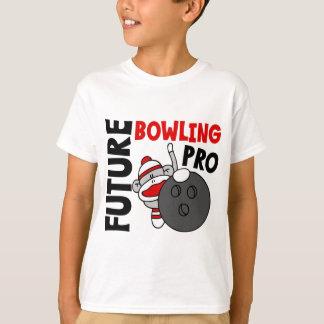 Future Bowling Pro Sock Monkey T-Shirt