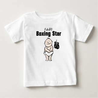 Future Boxing Star Baby Boy T-shirts