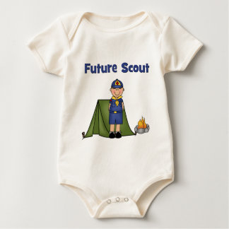 Future Boy Scout Baby Bodysuit