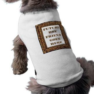 Future Boyfriend Goes Here! Sleeveless Dog Shirt