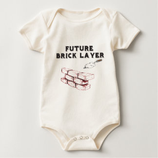 Future Brick Layer - Kids Of The Stone Mason Baby Bodysuit